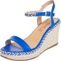 42828a308f264 Sandália Azul Bottero feminina | Shoes4you