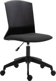Cadeira De Escritório Secretária Delmore Preta