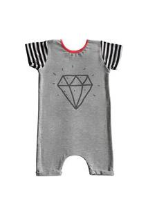 Pijama Curto Comfy Diamante