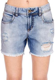Bermuda Jeans Destroyed Colcci