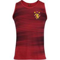 85830b3432 Camiseta Regata Do Sport Recife Fast Line - Masculina - Vermelho Preto