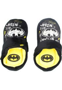 Pantufa Infantil Chinelo Kick Ricsen Batman