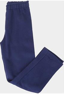 Calça Infantil Kyly Básica Masculina - Masculino-Azul