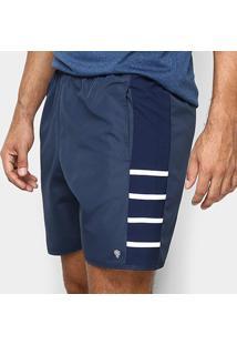 Short Gonew Stripes Masculino - Masculino-Marinho