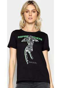 Camiseta Colcci Inspire Others Feminina - Feminino