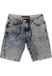 Bermuda Lost Jeans Especial 22023405 Masculina - Masculino-Azul