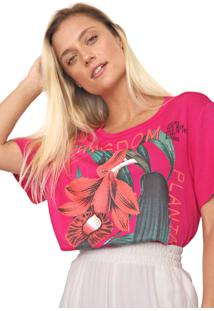 Camiseta Forum Estampada Pink