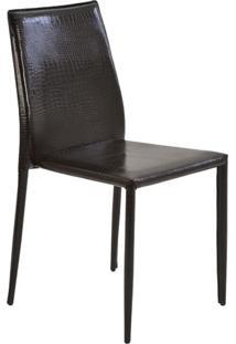 Cadeira De Jantar Amanda Crocco Marrom