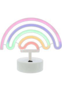 Luminária Stz Arco-Íris Luz Neon Color Colorido