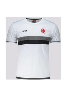 Camisa Vasco Approval Infantil Branca