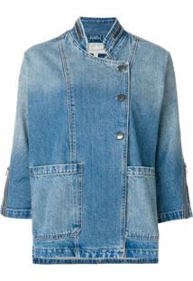 Current/Elliott Jaqueta Jeans Com Bolsos - Azul