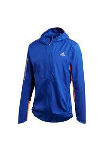 Jaqueta Adidas Own The Run Jkt Azul