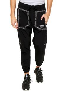 Calça Adidas Originals Dupla Face Nmd Urban Tp Preta/Branca