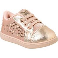 1a4a4ec94 Netshoes. Tênis Bebê Klin Mini Gloss Tachas Feminino ...