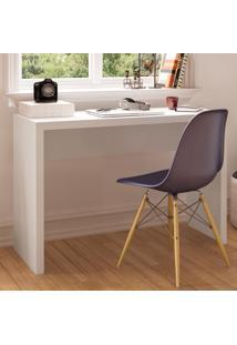 Mesa Para Computador Modelo Viana 170153 Branco Bp - Politorno