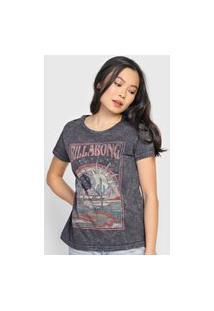 Camiseta Billabong Midnight Ravers Grafite