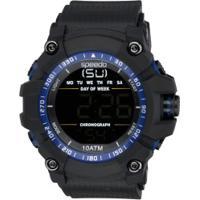 17e6bed0fcc Centauro. Relógio Digital Speedo 81140G0 - Masculino - Preto Azul