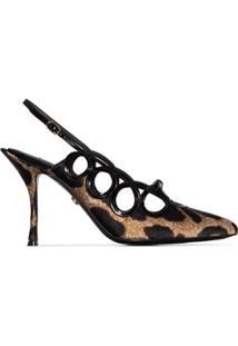 Dolce & Gabbana Scarpin Lori Animal Print - Neutro