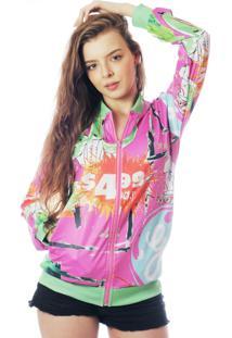 Jaqueta Bomber Neon Estampada Elephunk Full Print New York 02 - Kanui