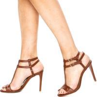 d7d49010e Dafiti. Sandália Dafiti Shoes Gladiadora Caramelo