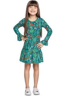 Vestido Verde Menina