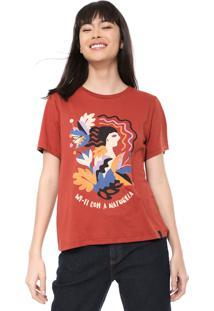 Camiseta Cantão Wi-Fi Caramelo