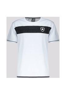 Camisa Botafogo Approval Infantil Branca