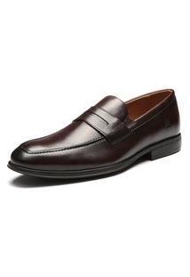 Sapato Sergio'S Loafer Couro Marrom