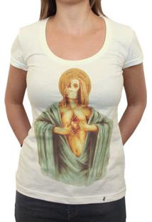 Corazon Abierto - Camiseta Clássica Feminina