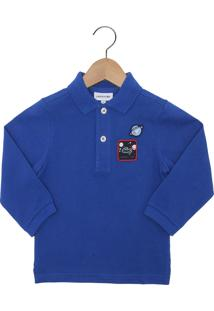 Camisa Polo Com Manga Lacoste infantil   Shoes4you 606a561448