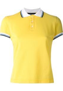e6f7a474a25cc Dsquared2 Camisa Polo Mangas Curtas - Amarelo E Laranja