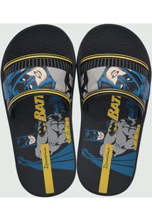 Chinelo Infantil Slide Estampa Batman Ipanema 26289