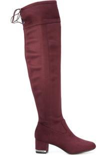 Michael Michael Kors Bota Over-The-Knee 'Jamie' - Pink & Purple