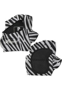 Luva Musculação Hammerhead Zebra - Feminino