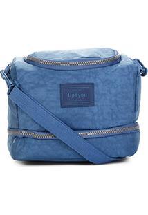 Bolsa Térmica Up4You Crinkle - Masculino-Azul