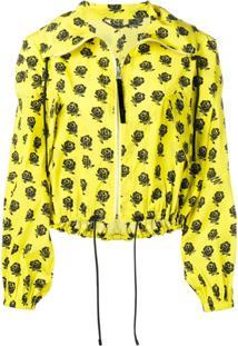 Kenzo Jaqueta Bomber Floral - Amarelo
