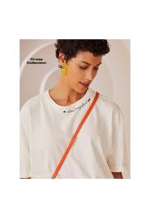 Amaro Feminino T Shirt Welcome To My Island, Off-White