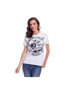 Camiseta Jazz Brasil Masters Branco