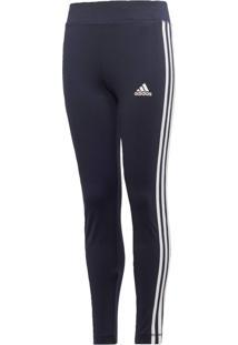Calça Adidas Yg Tr Eq 3S L T Azul