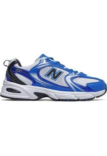 Tênis New Balance 530 | Casual Masculino - Masculino-Azul