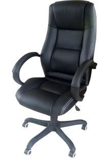Cadeira Office Preta Base Nylon - 24997 Sun House