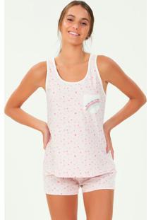 Pijama Regata Rosa