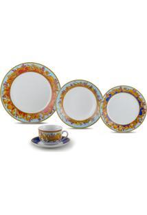 Aparelho De Jantar De Porcelana Super White Baeza Wolff – 20 Peças