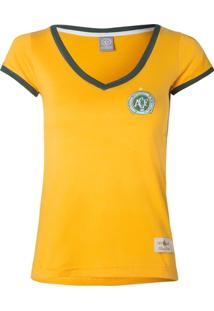 0881f9aa272f6 Camisa Feminina Baby Look Retrô Gol Chapecoense Seleção Brasil Torcedor -  Feminino