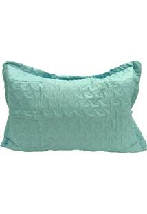 Porta Travesseiro Ultrasound Liso Azul Claro Ii Color Art Corttex