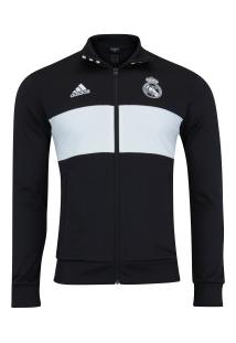 Jaqueta Real Madrid 3S 18/19 Adidas - Masculina - Preto/Branco