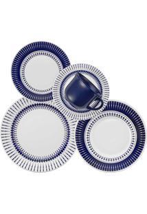 Aparelho De Jantar E Chá 30 Peças Colb 005857 Biona