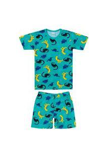 Pijama Infantil Menino Malwee 1000083385 Verde
