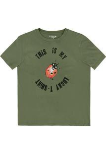 Camiseta Dzarm Verde