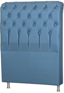 Cabeceira Solteiro Com Pés De Alumínio Domus 0,98 Tcs-358 - Perfan